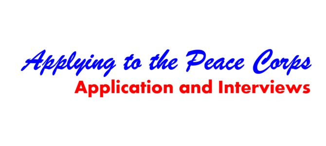 peace corps motivation statement tips
